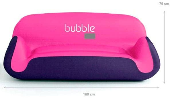Mobilier gonflable Bubble