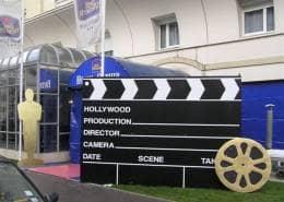 Décors thème cinéma
