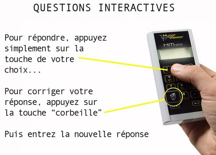 Boîtiers de votes interactifs