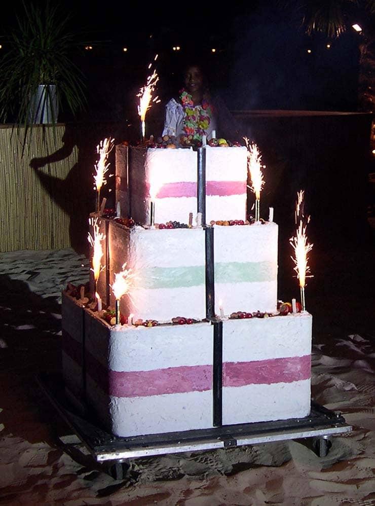 Gâteau géant