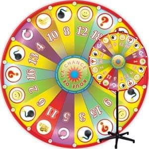 Roue bingo cadeaux